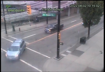 downtown vancouver traffic camera