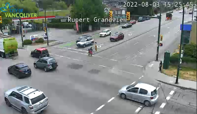 Vancouver - Grandview Rupert - South