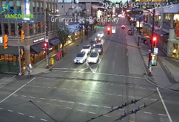 Vancouver - Granville & Broadway - South