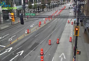 Vancouver - Granville & Broadway - West