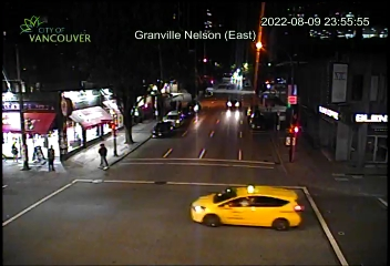 granville street vancouver bc traffic