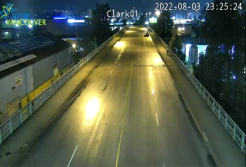 Vancouver - East 1st Ave. Viaduct west of Clark